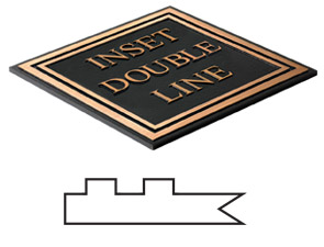 Inset Double Line Border