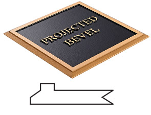 Projected Bevel Border