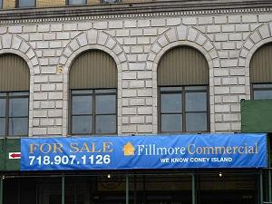 NY Scaffolding Banner