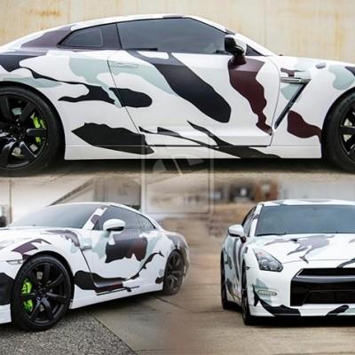 Camo Car Wrap ny