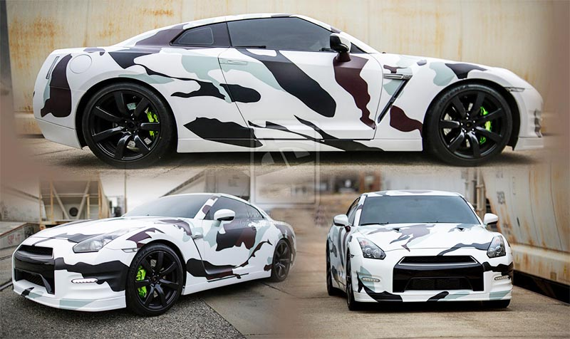 Camo Car Graphics
