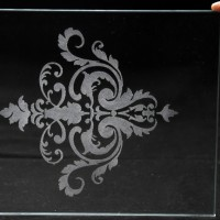 Glass Laser Engraving