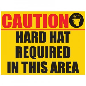 Hard Hat Notice