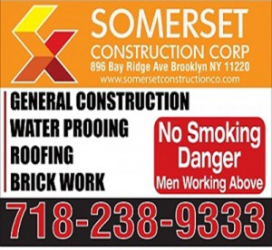 Contractor Yard Sign Brooklyn NY