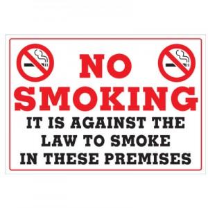 NY No Smoking Signs
