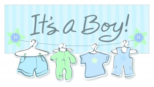 Its A Boy Banner Zrom