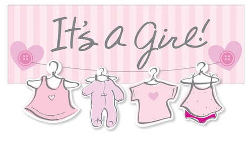 its a girl banner digital printing product categories signage2k